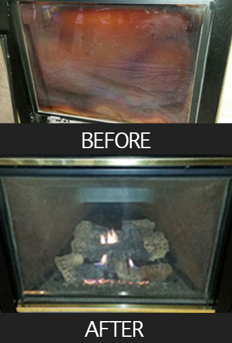 Gas Fireplaces require maintenance and sometimes need repair just like a gas furnace. Furnace World has expert gas fireplace technicians.